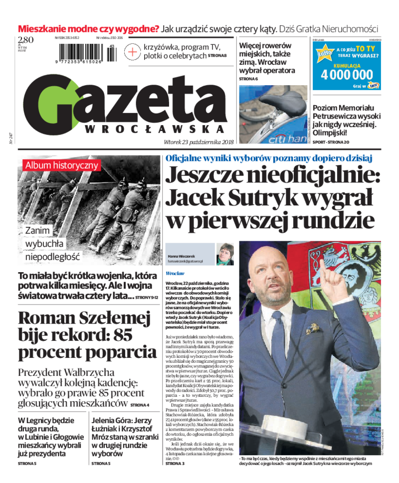 5a860972cd Prasa 24 - Gazeta Wrocławska – gazeta online – e-wydanie ...